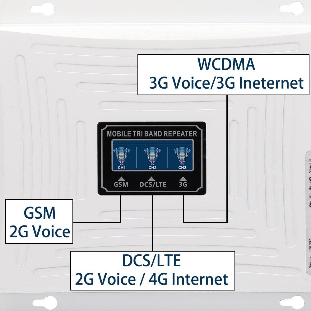 4g Amplificateur de signal GSM 2g 3g 4g Amplificateur de signal - Pièces détachées et accessoires pour téléphones portables - Photo 3
