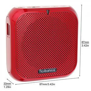 Image 5 - Rolton K400 3 Colors Portable Wired Mini Audio Speaker Megaphone Voice Amplifier Loudspeaker Microphone Waist Band Clip