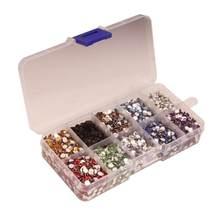 9000 pçs plana volta strass resina gem diamante cristal 4mm diy artesanato