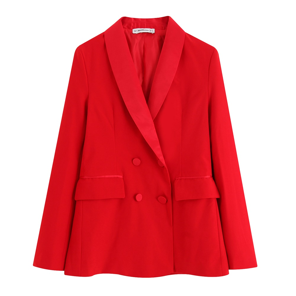 Women's Two Pieces Outfit Red Suit Women Blazer Set Wide Leg Pants Suits For Women Blazer And Pants Two Pieces Suit F0289