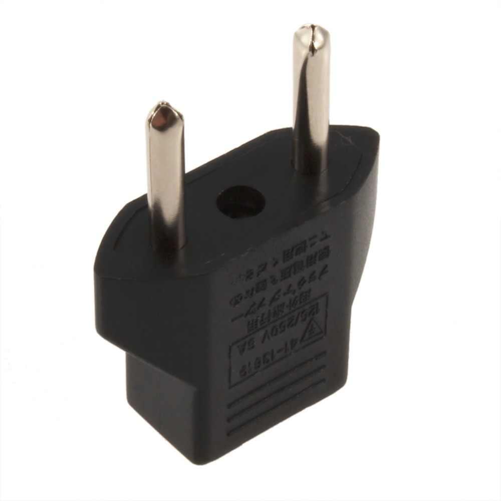 Universele Eu Au Us Adapter Plug 2 Platte Pin Naar Eu 2 Ronde Pin Plug Socket Power Charger Reizen Noodzaak huishoudelijk Gebruik
