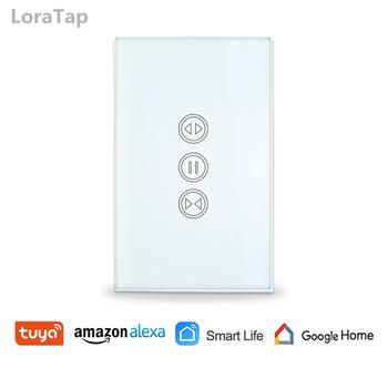 US WiFi rolety przełącznik dla elektryczny rolety automatyczne Google Alexa domu Echo sterowanie głosem aplikacji Timer harmonogram tanie i dobre opinie LoraTap 600W 110-240 v SC400W-US 2 years 100-250VAC CE Rohs FCC