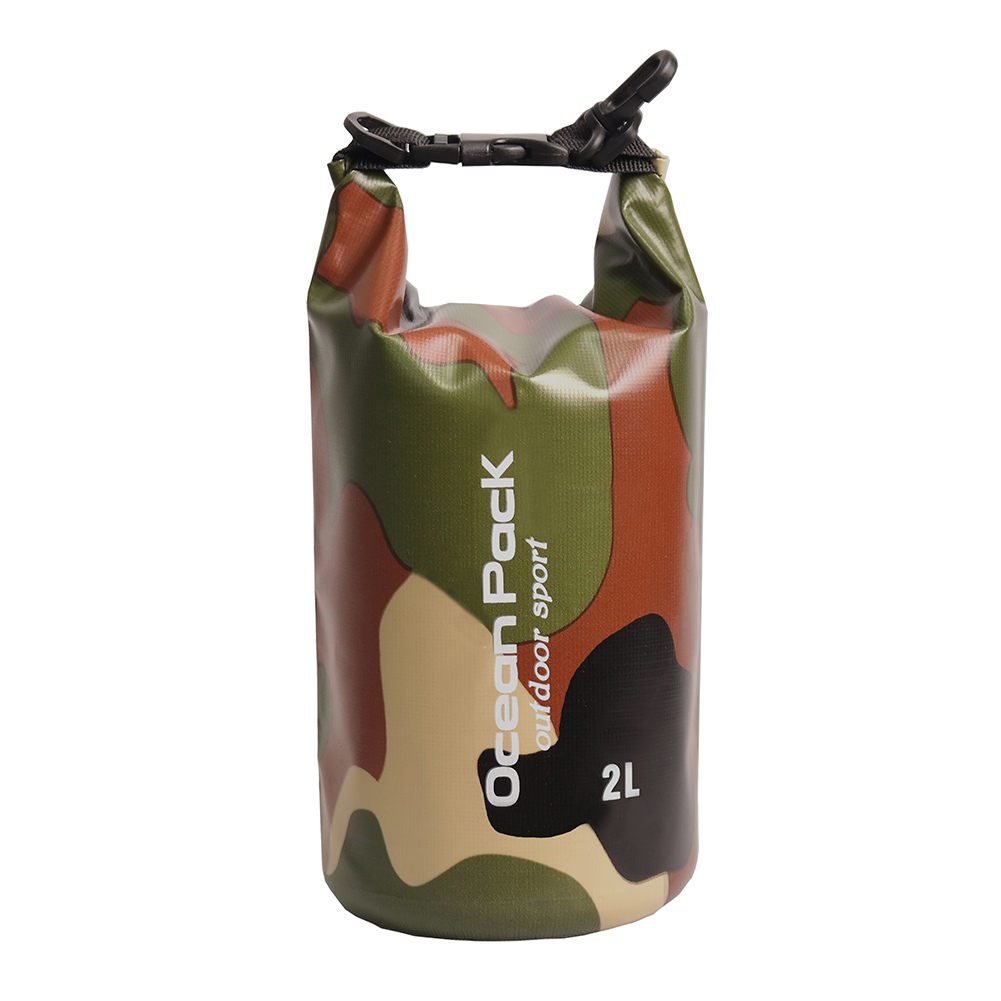 1 PC PVC Dry Bag Outdoor Floating Boating Camping Water Resistant Dry Bag Sack Pack River Trekking Bags For Boating Swimming