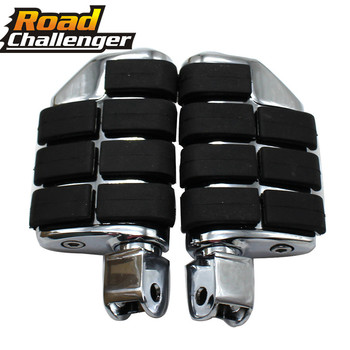Motorcycle Footrests For Honda Shadow ACE Aero VT 750 VT750 Spirit Aero Magna VF750 For Front Rider Driver Foot Pegs