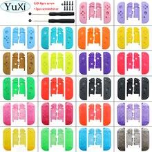 YuXi 멀티 컬러 23 색 닌텐도 스위치 NS 조이 콘 교체 하우징 쉘 커버 NX 조이 콘 컨트롤러 쉘 케이스
