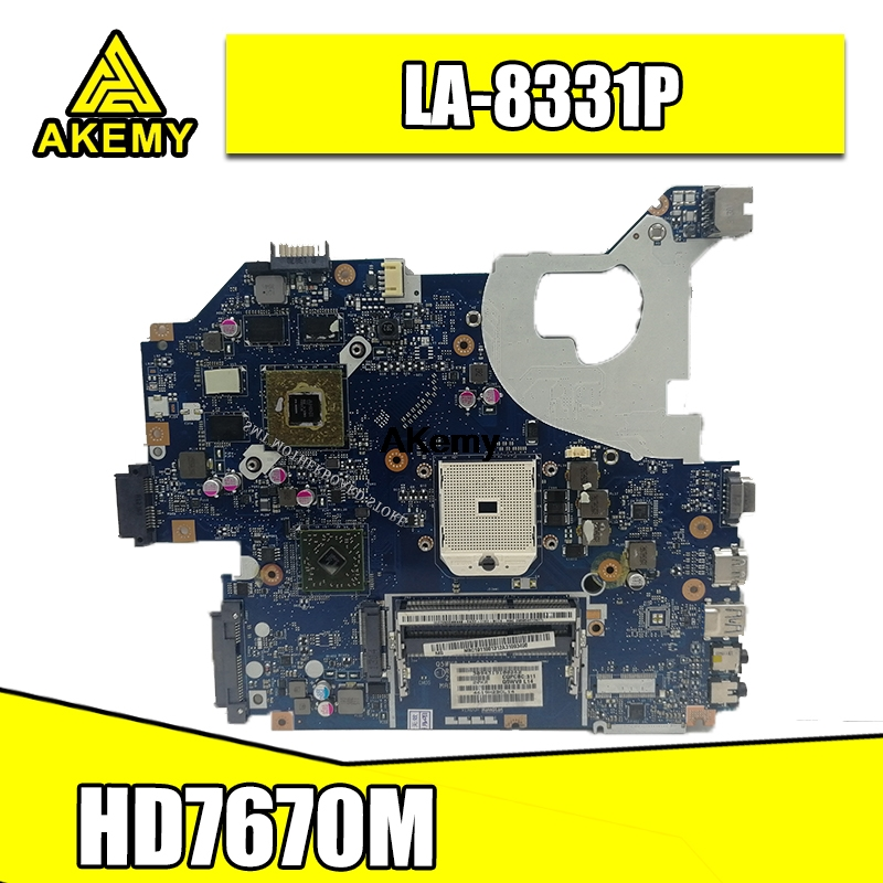 NBC1811001 Q5WV8 LA-8331P motherboard For acer aspire V3-551G V3-551 laptop motherboard DDR3 Radeon <font><b>HD</b></font> <font><b>7670M</b></font> original test image