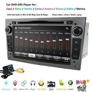 Autoradio 2 Din Car DVD GPS Navigation for Opel Astra H G J Antara vectra c b Vivaro astra H corsa c d zafira b multimedia unit(China)