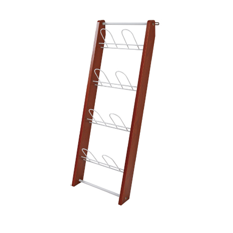 Living Room Wall Hanging Small Simple Hanging Wooden Household Multi-layer Creative Simple Space Room Slippers Rack