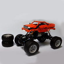 Rock Crawler Technic RC SUV Car Model Building Block Sport Bigfoot Radio Control Toys For Children