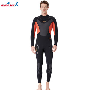 Image 4 - Fullbody Men Women 3mm Neoprene Wetsuit Surfing Swimming Diving Sailing Clothing Scuba Snorkeling Cold Water Triathlon Wet Suit