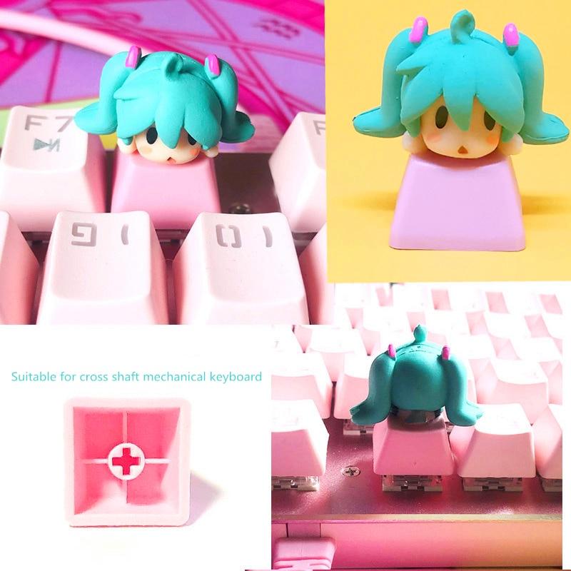 Cute Anime DIY Keycap  2