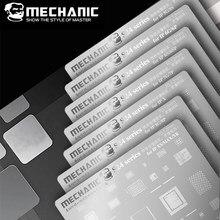 Механик BGA трафарет для iPhone XR XS X 8 8P 7P 6S 6SP 6 6P 5 материнская плата микросхема CPU набор трафаретов для пайки BGA