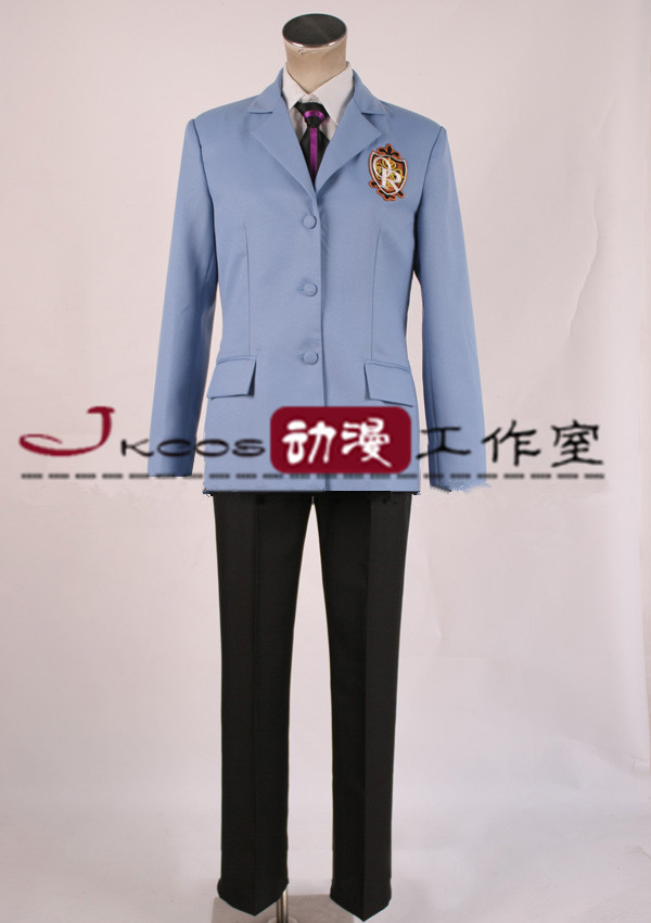 Anime Ouran High School Host Club Cosplay Costume School Uniform Unisex Halloween/Party Role Play Clothing Custom-Make Any Size
