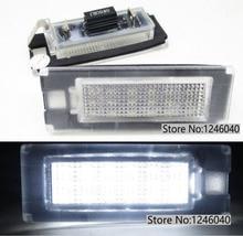 2PCS LED 번호판 라이트 번호판 램프 피아트 DUCATO 버스 Kasten 푸조 박서 버스 Kasten 시트로엥 점퍼 버스 Kasten