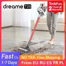 Dreame – aspirateur à main sans fil T20 pour voiture et maison, dépoussiéreur à brosse multifonctionnelle, aspiration cyclone 25000Pa