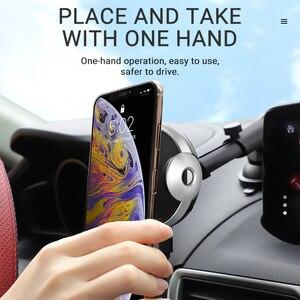 Image 5 - HOCO Fast Wireless Charger Air Vent รถผู้ถือโทรศัพท์ 5W 7.5W 10W ขาตั้งโทรศัพท์ & QC3.0 USB Fast รถเครื่องชาร์จ