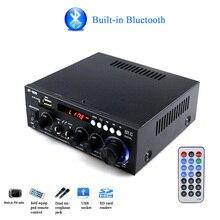 600 Вт Bluetooth бас автомобильный домашний с пультом дистанционного управления аудио двухканальный стерео мини звуковая система fm-радио усилитель мощности HIFI Музыка