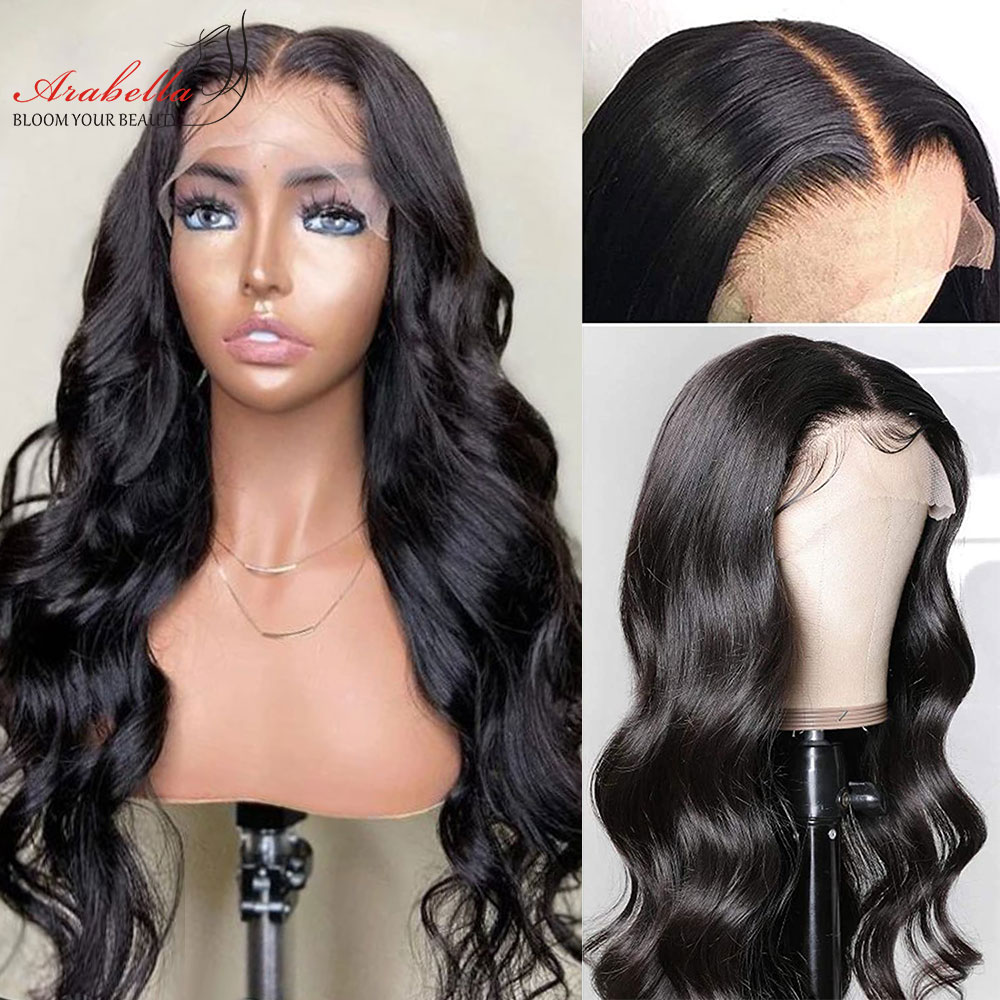 Body Wave Wig  13x4 Lace Frontal Wig With Baby Hair PrePlucked Closure Wig 4x4  Body Wave Lace Front Wig 3
