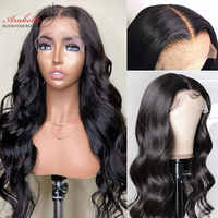 Brazilian Body Wave Wig Human Hair Lace Frontal Wig With Baby Hair PrePlucked Closure Wig 4x4 Remy 13x4 Body Wave Lace Front Wig