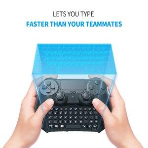 Image 4 - DOBE بلوتوث لوحة المفاتيح لوحة المفاتيح لسوني بلاي ستيشن 4 Mini Btv اللاسلكية لوحة المفاتيح عصا التحكم غمبد ل PS4 تحكم الملحقات