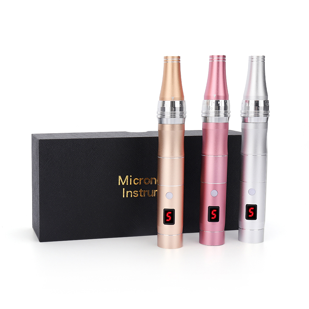 Electric Micro Tiny Needles Dr.pen Professional Wireless Electric Skin Care Kit Tools Microblading Dr Pen Tattoo Gun Derma Pen