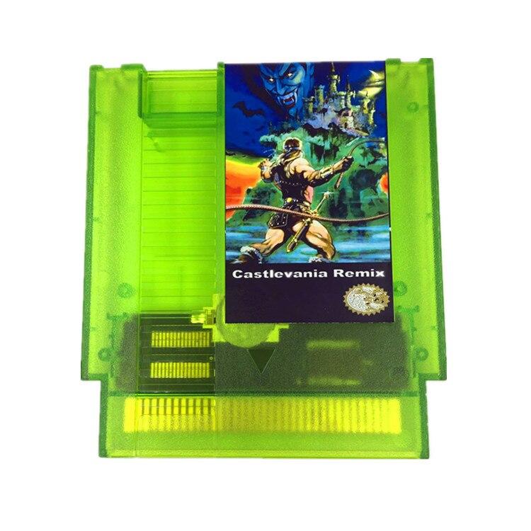 CASTLEVANIA 42 REMIX em 1 Cartucho de Jogo de NES Console
