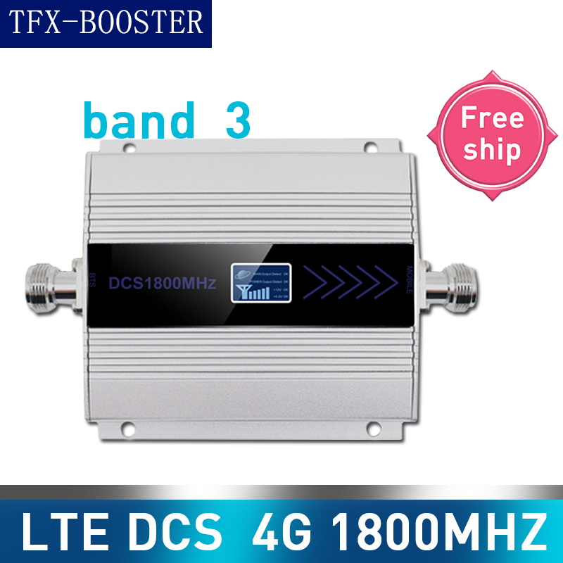TFX-BOOSTER 4G LTE DCS 1800mhz Cellular Repeater GSM 1800 60dB Gain GSM 2G 4G Amplificador 15M Cable 4G Moblie Phone Signal