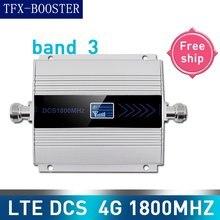 TFX-BOOSTER 4g lte dcs 1800mhz repetidor celular gsm 1800 60db ganho gsm 2g 4g amplificador não 15m cabo 4g sinal de telefone moblie