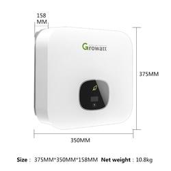 Growatt Inverter On Grid 2500W 3000W 3600W 4200W 5000w 6000W 220V Pure Sine Wave Mppt Inverter For Solar System Grid Tie  Wifi