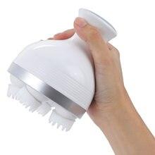 Новый водонепроницаемый массажер для головы Электрический вибрирующий