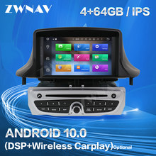 Carplay para 2009, 2010, 2011, 2012, 2013, 2014, 2015, Renault Megane 3 Fluence reproductor de Android GPS Audio estéreo grabadora de Radio unidad de cabeza