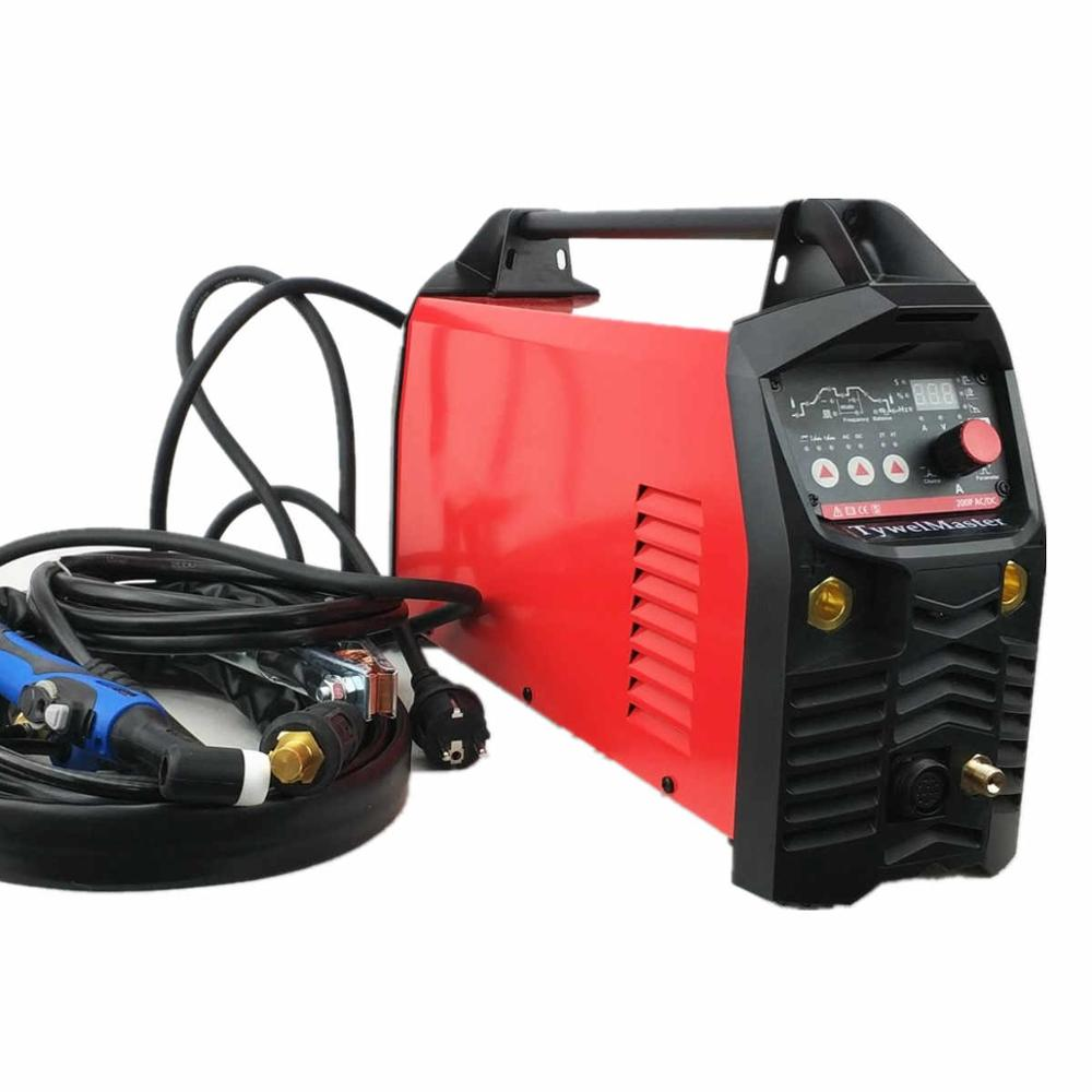 Professional 200A Digital AC DC Pulse TIG Welding Machine AC DC Pulse TIG MMA CE Approved IGBT Inverter TIG Aluminum Welding