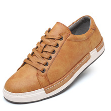 Men's Fashion Cow Suede Genuine Leather Sneakers Trend Hot Sale Comfortable Man