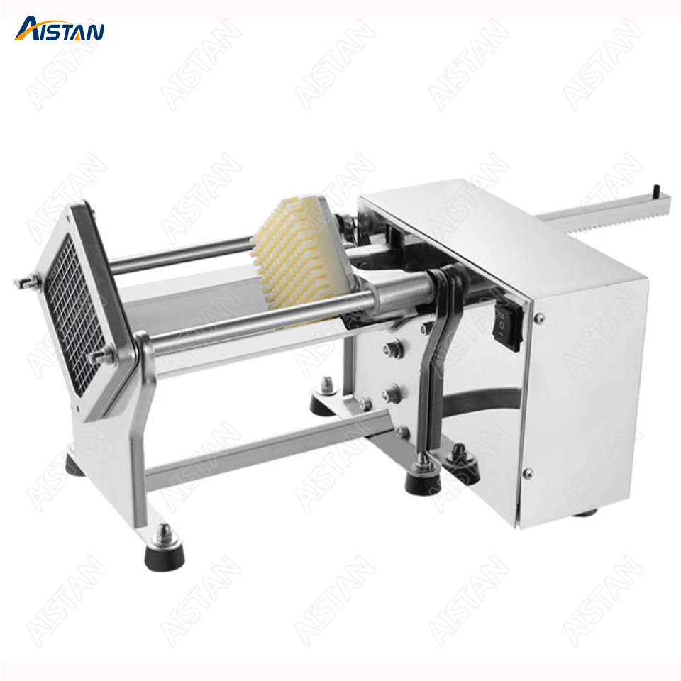 STJ19 Electric Potato Chipper Carrot Slicer Automatic Heavy Duty Stainless Steel 1