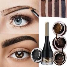 Гель-усилитель для бровей, воздушная подушка, 4 цвета, профессиональный крем для бровей, татуировка коричневого цвета, натуральный стойкий водонепроницаемый макияж для глаз