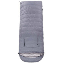 Winter Expose Hand Sleeping Bag Camping Hiking Climbing Splicing Double Travel Waterproof Bed
