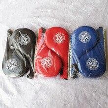 Тхэквондо куриные ножки мишень Kune Do ступня мишень тренировочное оборудование фокус митенки пробойник боксерские куриные ножки мишень