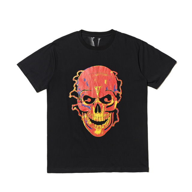 Vlone Skull Man T-shirt 1