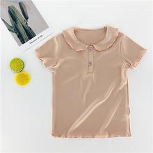 2020 детская одежда футболка детский белый топ для маленьких