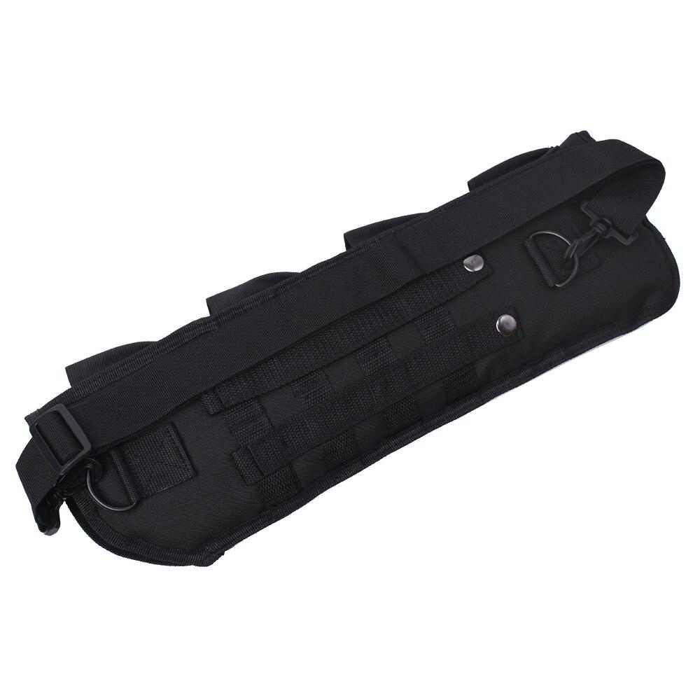 pistola, barril curto para espingarda, bolsa de
