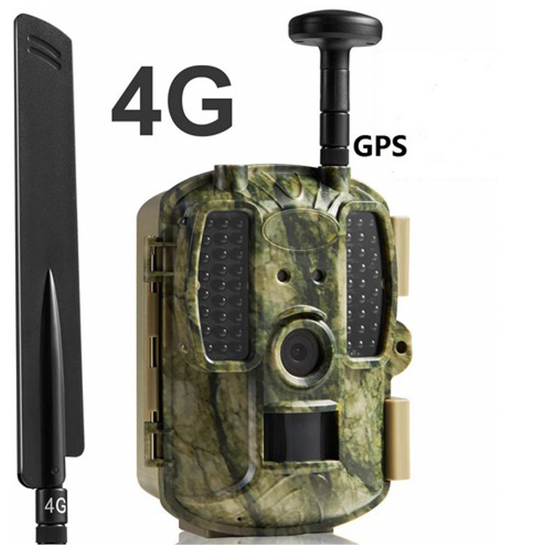 4G network Hunting Game Cameras with GPS 4G LTE Trap Cameras 12MP GPS Wild Cameras 4G Network Scouting Cameras image