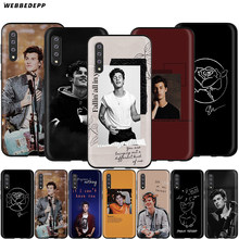 Webbedepp Mendes Shawn Case for Samsung Galaxy S7 S8 S9 S10 Plus Nota Borda 10 8 9 A10 A20 A30 A40 A50 A60 A70(China)