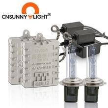 CNSUNNYLIGHT Canbus 55W רכב קסנון HID אורות H7 H1 H11 H8 HB3 HB4 9005 9006 4300K 6000K סופר בהיר לא שגיאת אוטומטי קסנון מנורות