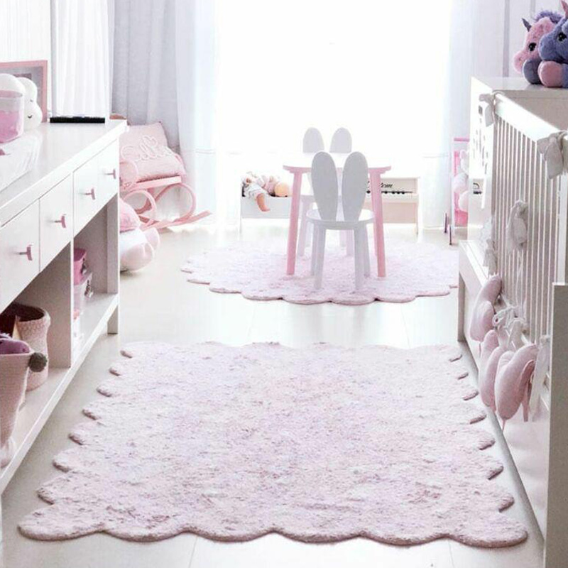 150CM enfants ramper tapis bébé jeu Pad infantile jouer tapis lettre motif plancher tapis rond doux couverture lavable chambre décor DDZ004