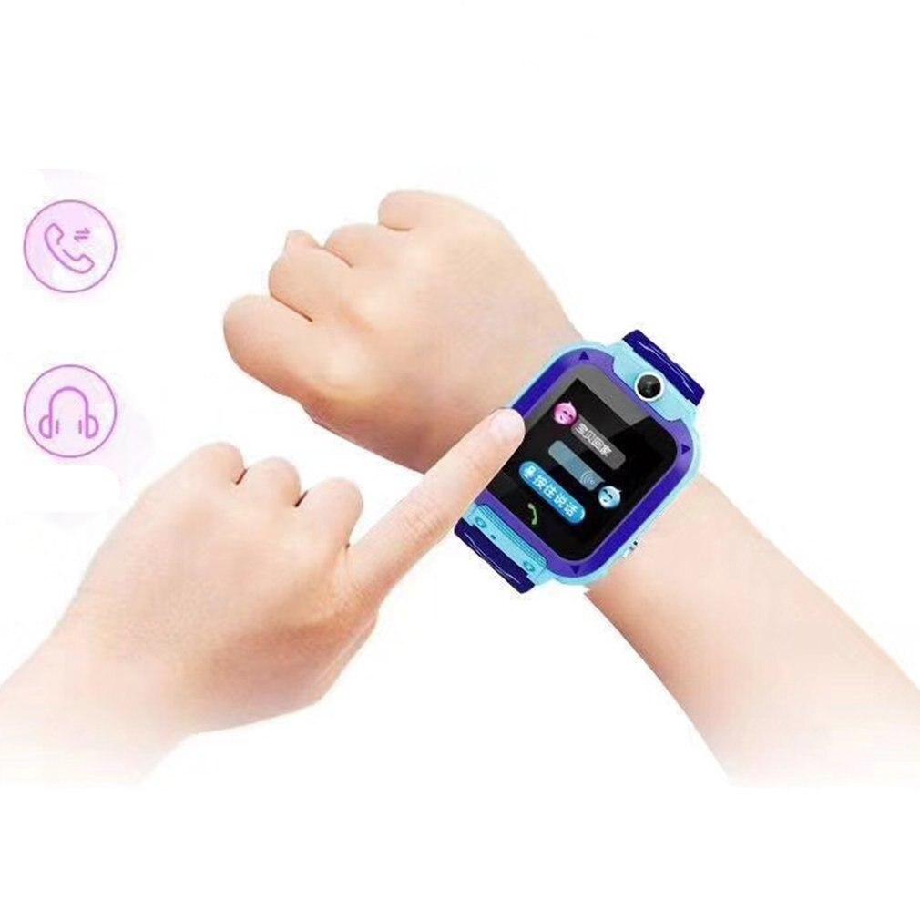 В12 детские часы Антил-потерял SOS Детские часы SmartWatch IP67 водонепроницаемый телефон расположение Tracker часы мультфильм часы умный браслет