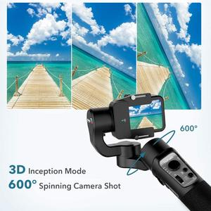 Image 4 - 3 محور مثبت Gimbal ل GoPro 8 عمل كاميرا يده Gimbal ل Gopro بطل 8,7 ، 6,5 ، 4,3 ، أوسمو عمل Hohem iثابت برو 3