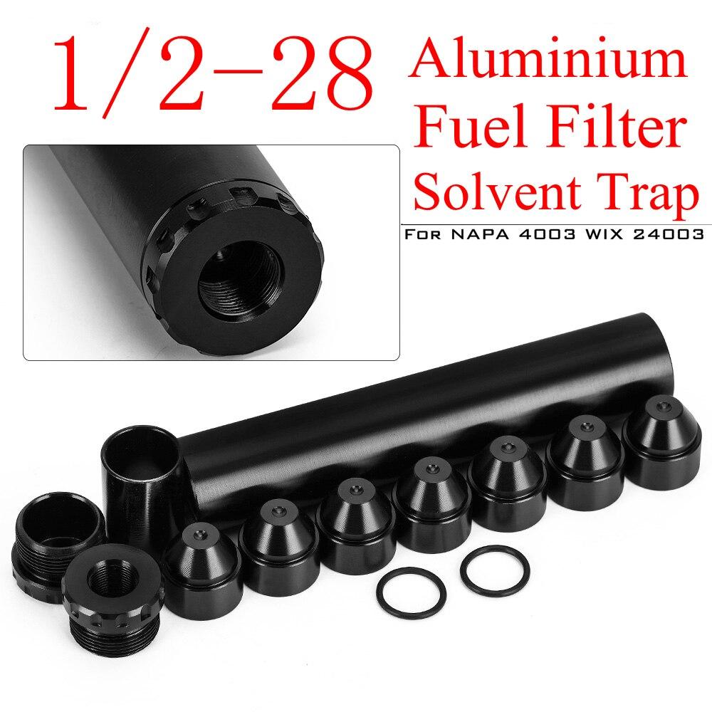 Автомобильный топливный фильтр с растворителем 1/2-28 для NAPA 4003 WIX 24003 алюминиевый топливный фильтр 1/2x28 Filtro NAPA 1/2 28 фильтр топливный топлевный ф...