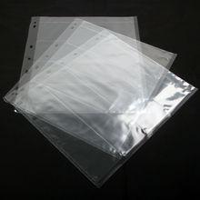 10 PCS 120  Binder Archival File Film Storage Page Sheets B&W Negative Slide