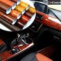 Автомобильный Стайлинг 30*200 см  ПВХ мебель  дерево  зерно  автомобильная пленка  пленка для автомобиля  внутренние наклейки  водонепроницаем...