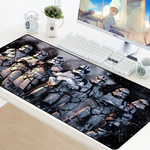 90x40CM Large Gaming Keyboard Mouse Pad Computer Gamer Tablet Desk Mousepad with Edge Locking XL Office Play Mice Mats